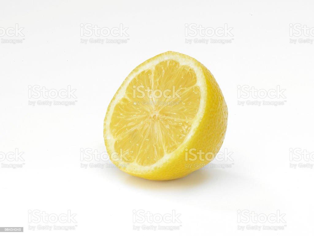 얇게 썬 레몬 royalty-free 스톡 사진