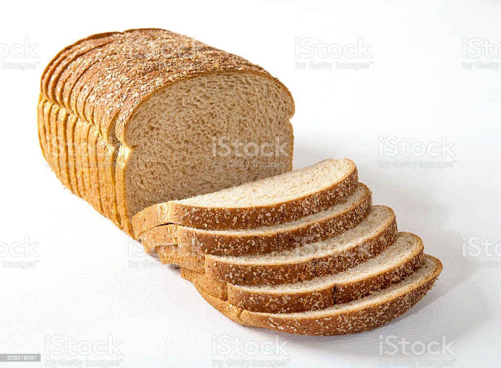 Sliced Multi-Grain Bread stock photo