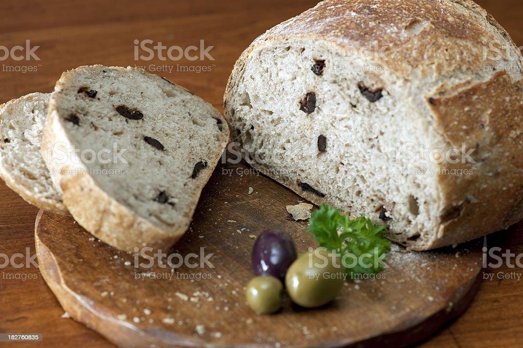 Brot in Scheiben Olive – Foto