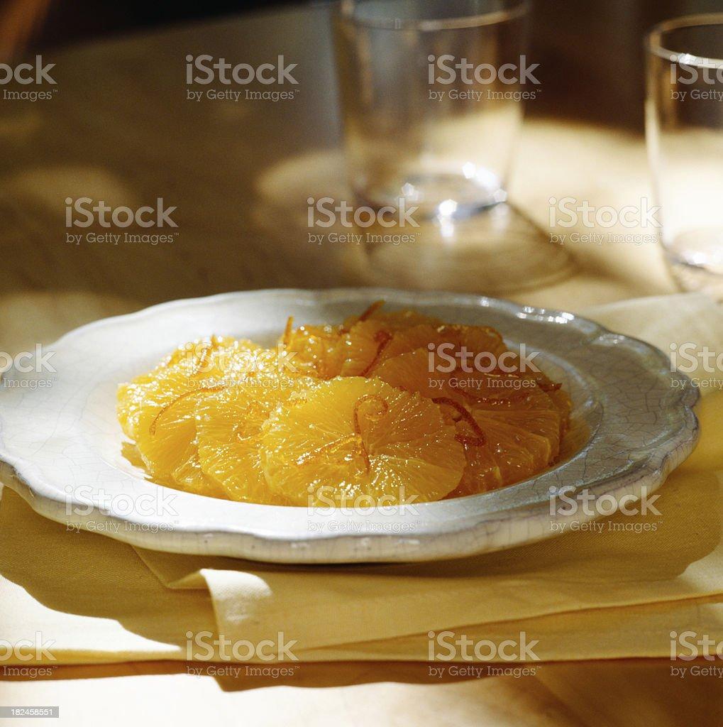 Rodajas de naranja foto de stock libre de derechos
