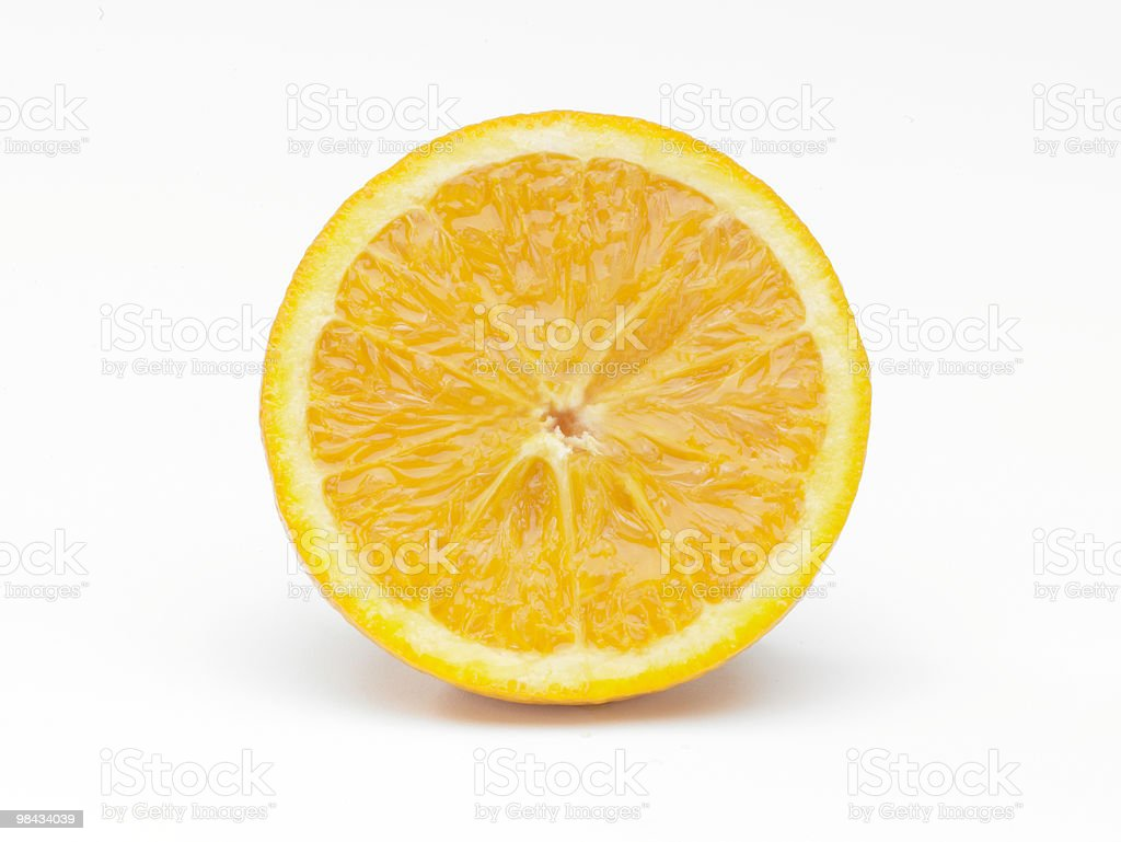 Sliced Orange royalty-free stock photo