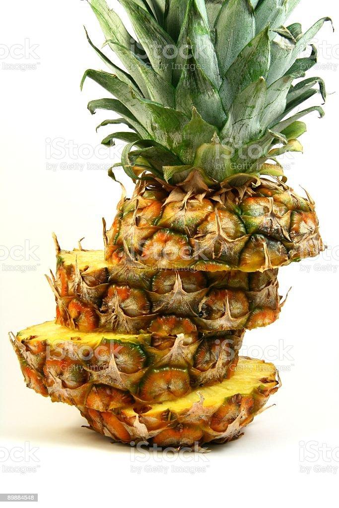 Нарезной виде ананаса Стоковые фото Стоковая фотография