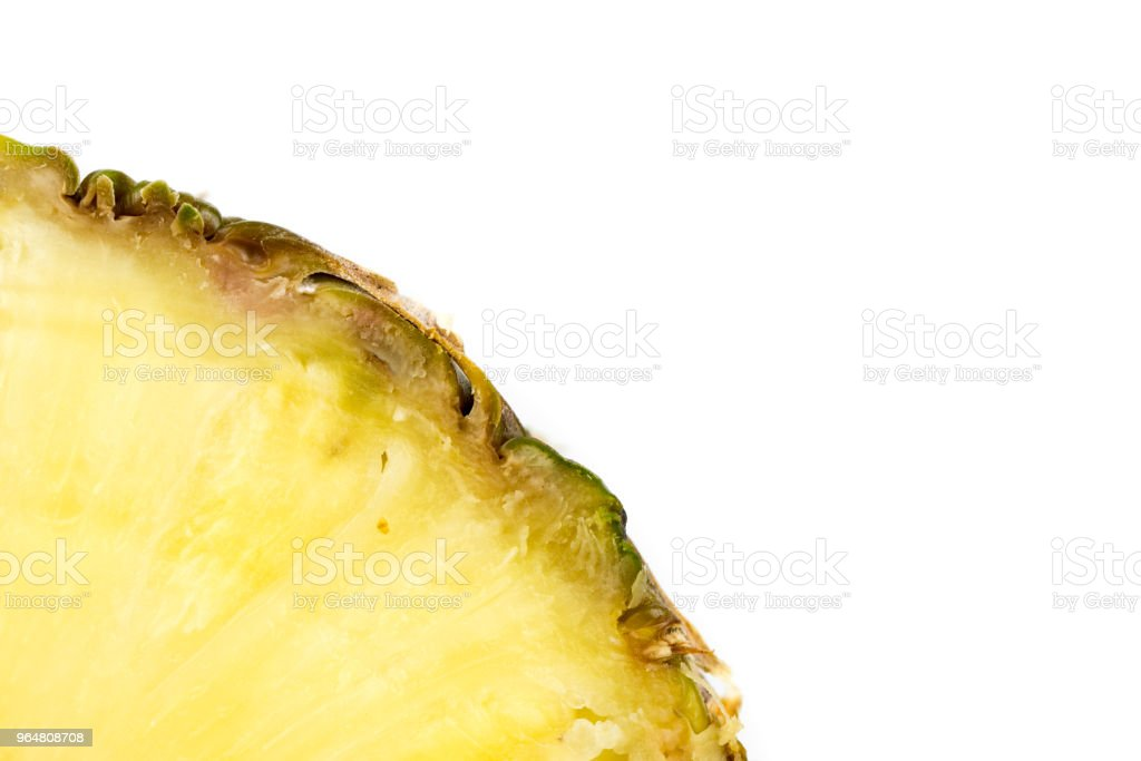 Sliced Pineapple royalty-free stock photo