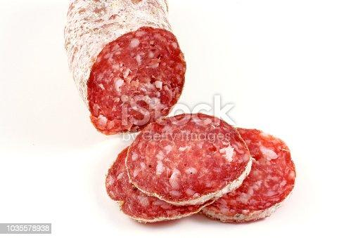salami - pork meat