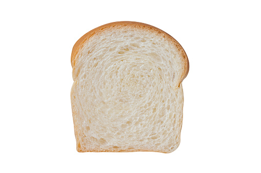 Sliced Soft And Sticky Delicious White Bread For Breakfast