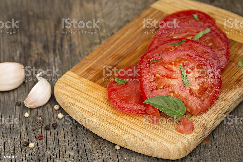 Sliced Tomato royalty-free stock photo