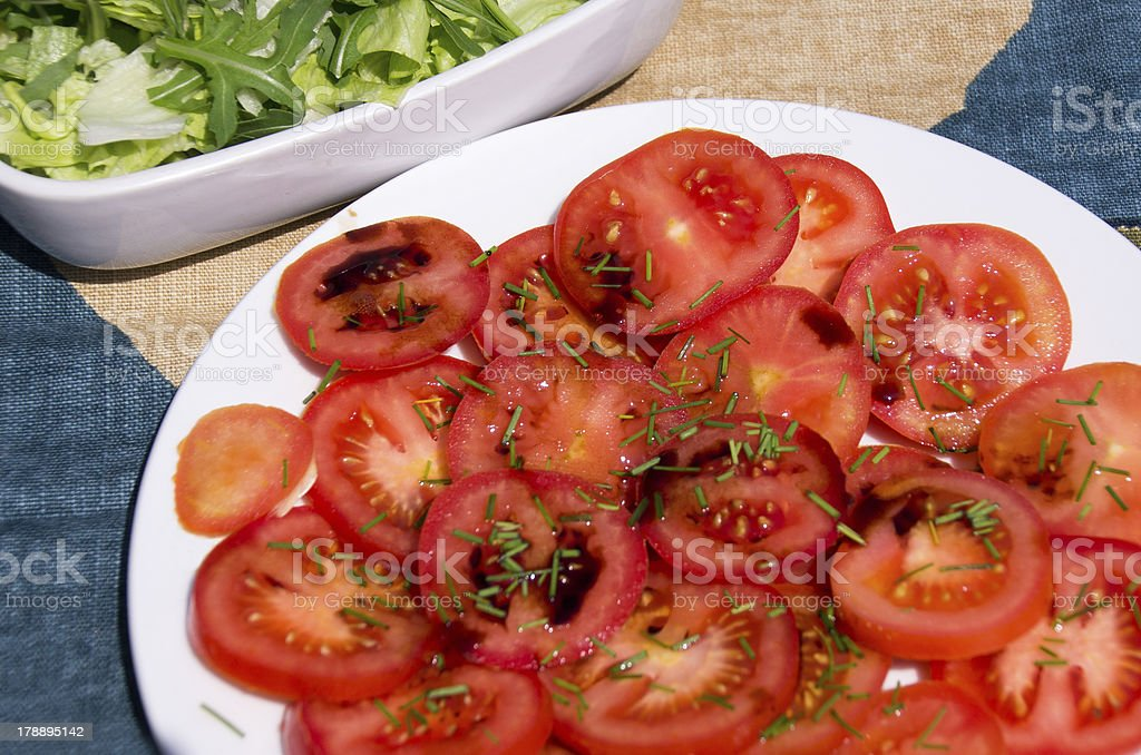 Sliced Tomatoes. royalty-free stock photo