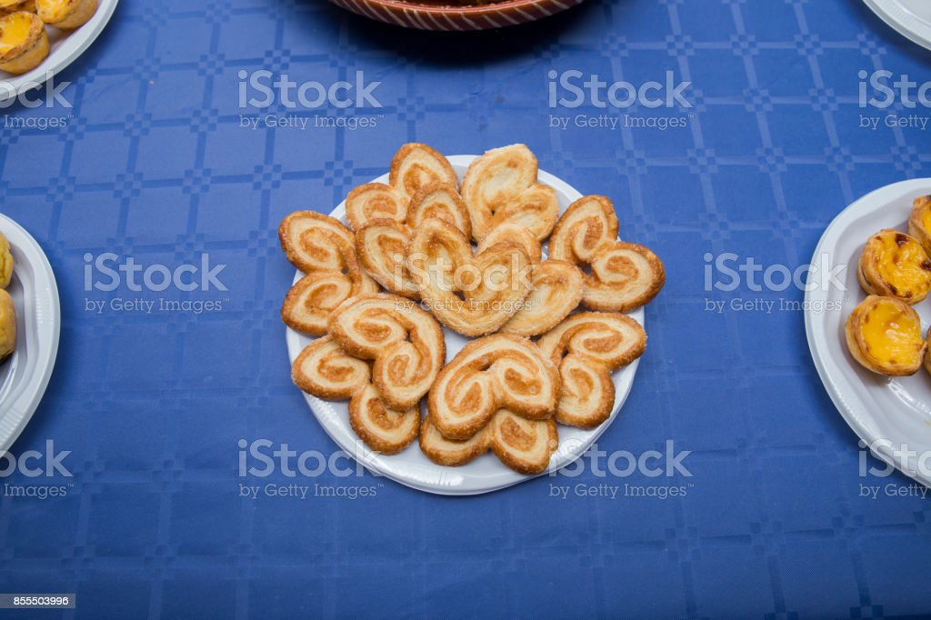 Tranches de gâteau traditionnel de Noël portugais. - Photo