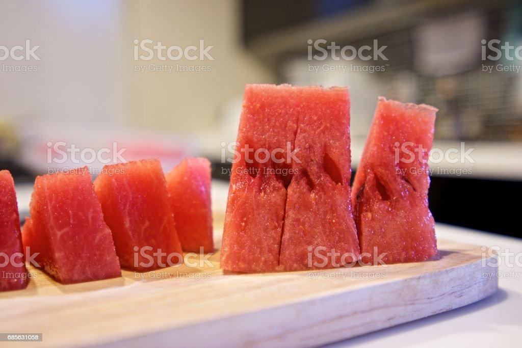 Sliced watermelon. 免版稅 stock photo