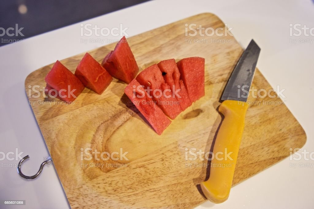 Sliced watermelon. foto de stock royalty-free