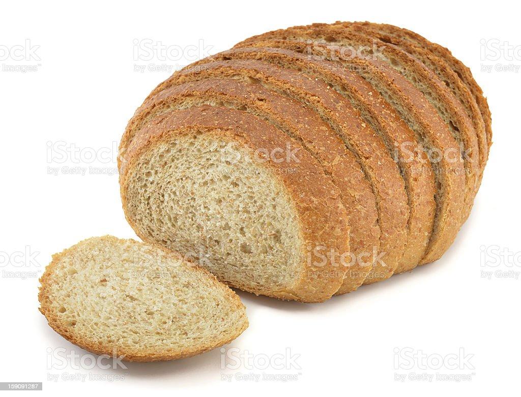 Sliced Wheat Bread royalty-free stock photo
