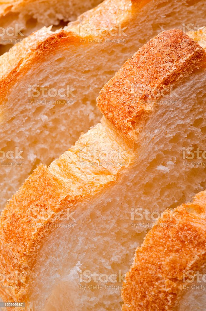 Sliced white bread texture royalty-free stock photo
