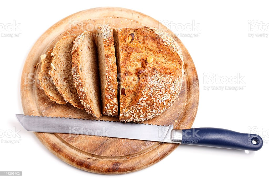 Sliced Wholemeal Bread (XXL) royalty-free stock photo