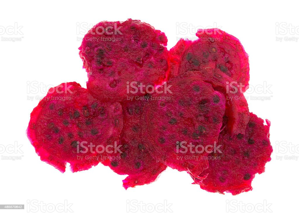 Slices of cactus pear stock photo