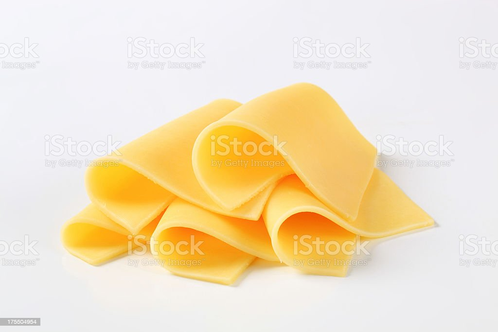 slices of cheese stock photo
