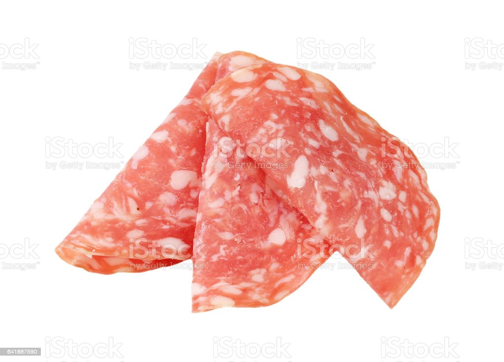 slices of dry salami – Foto