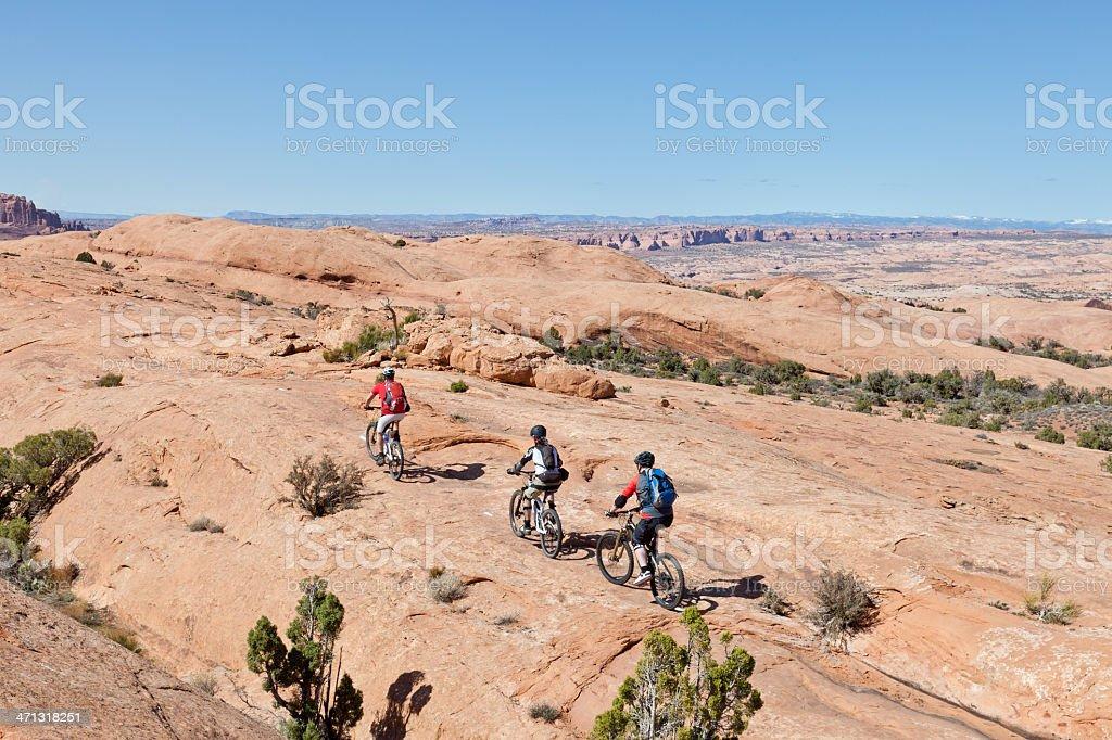 Slickrock Trail, Moab stock photo