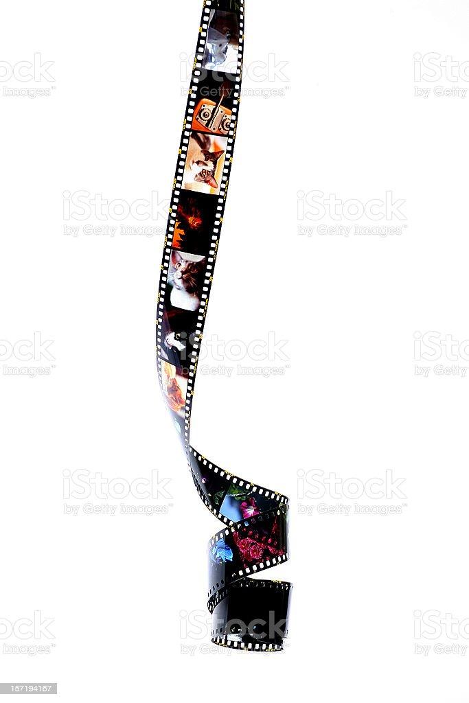 slide film royalty-free stock photo