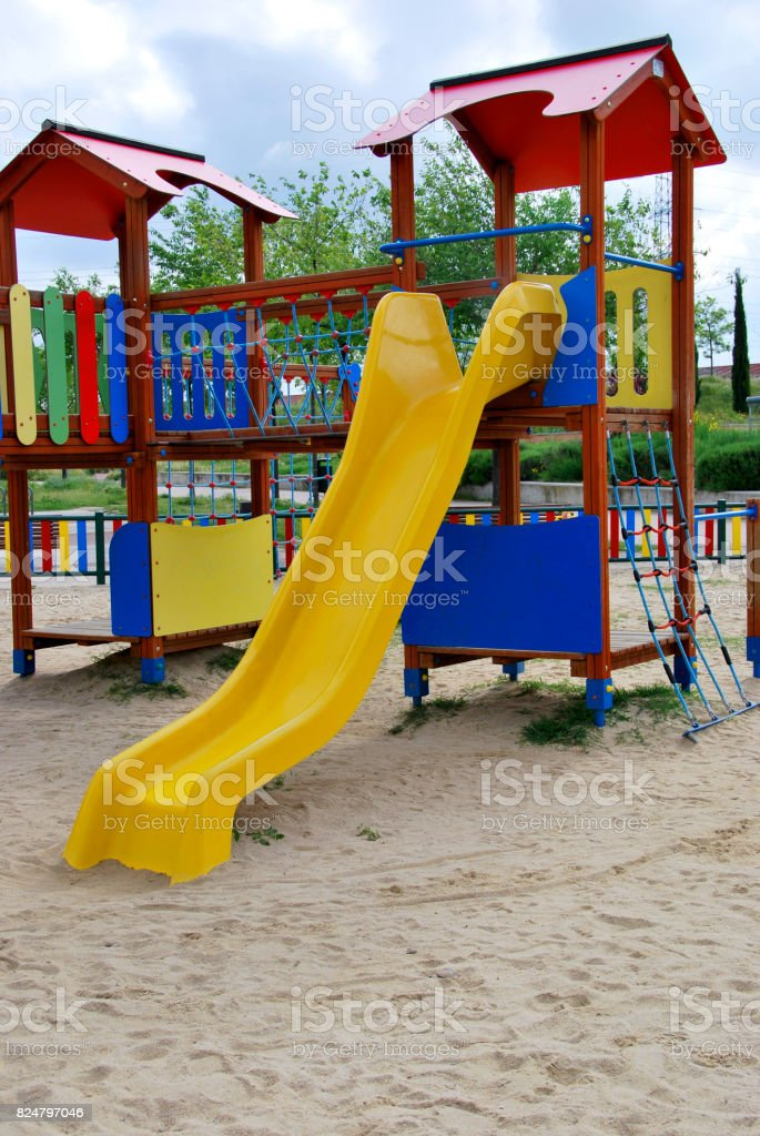 Slide stock photo