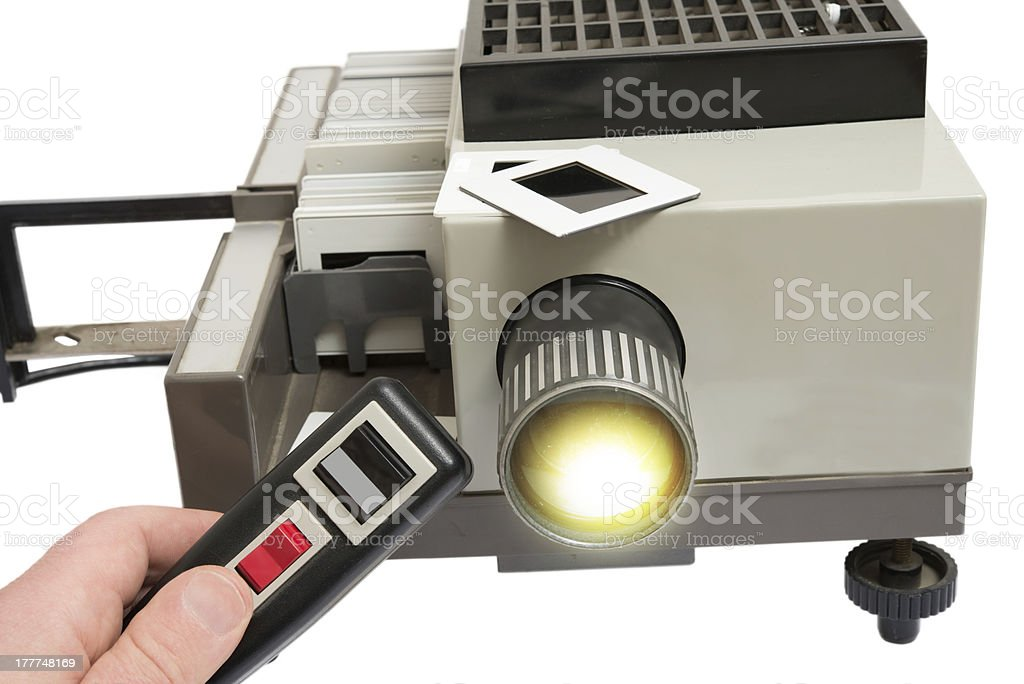 slide projector royalty-free stock photo