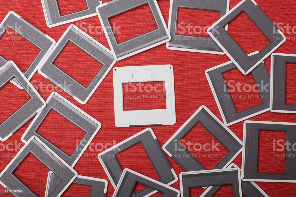 Slides royalty-free stock photo