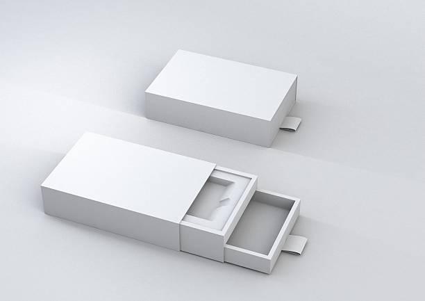 sliding box pack stock photo