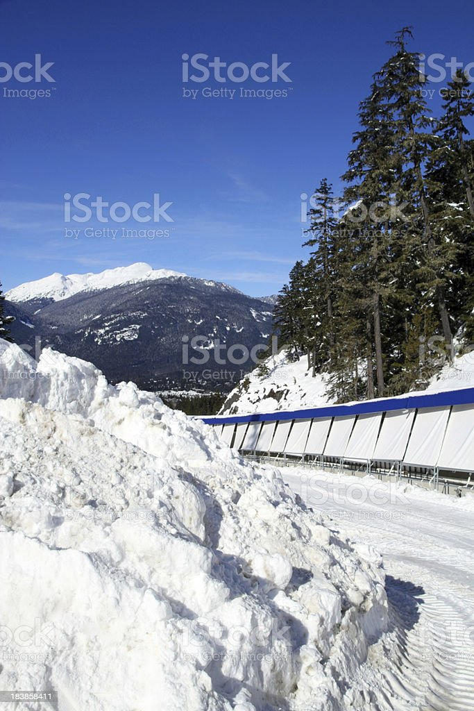 Sliding Centre stock photo