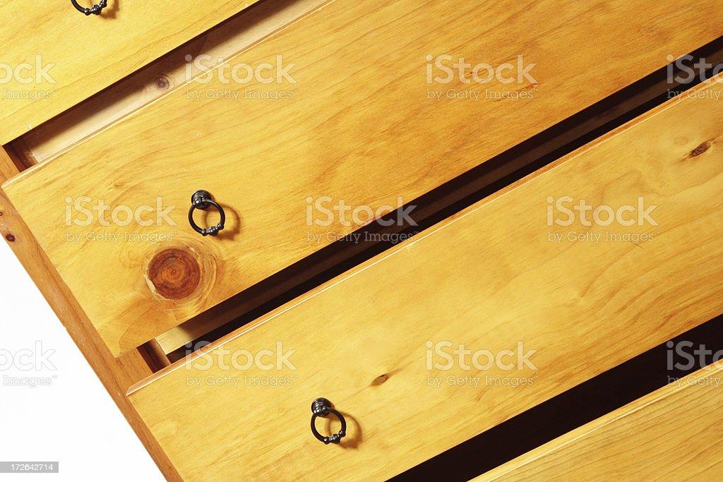 sliding drawers royalty-free stock photo
