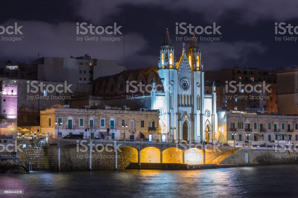Sliema, Malta foto de stock royalty-free