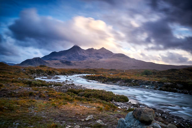 Sligachan, Isle Of Skye, Scotland stock photo