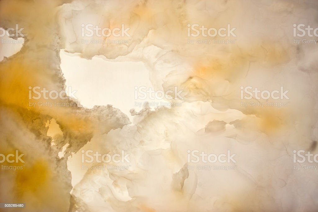 Slighty blurred lightened slices marble stock photo