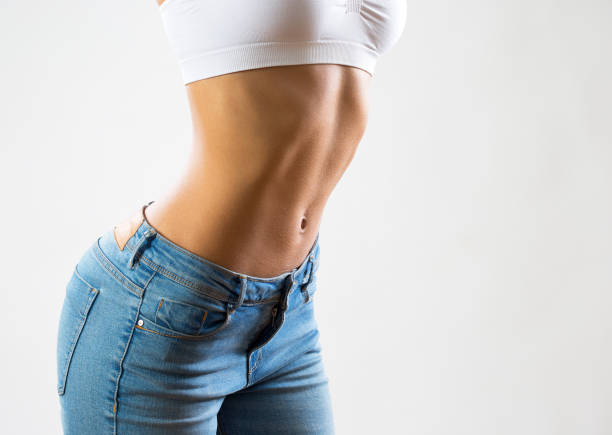 slim beautiful woman - slim stock pictures, royalty-free photos & images