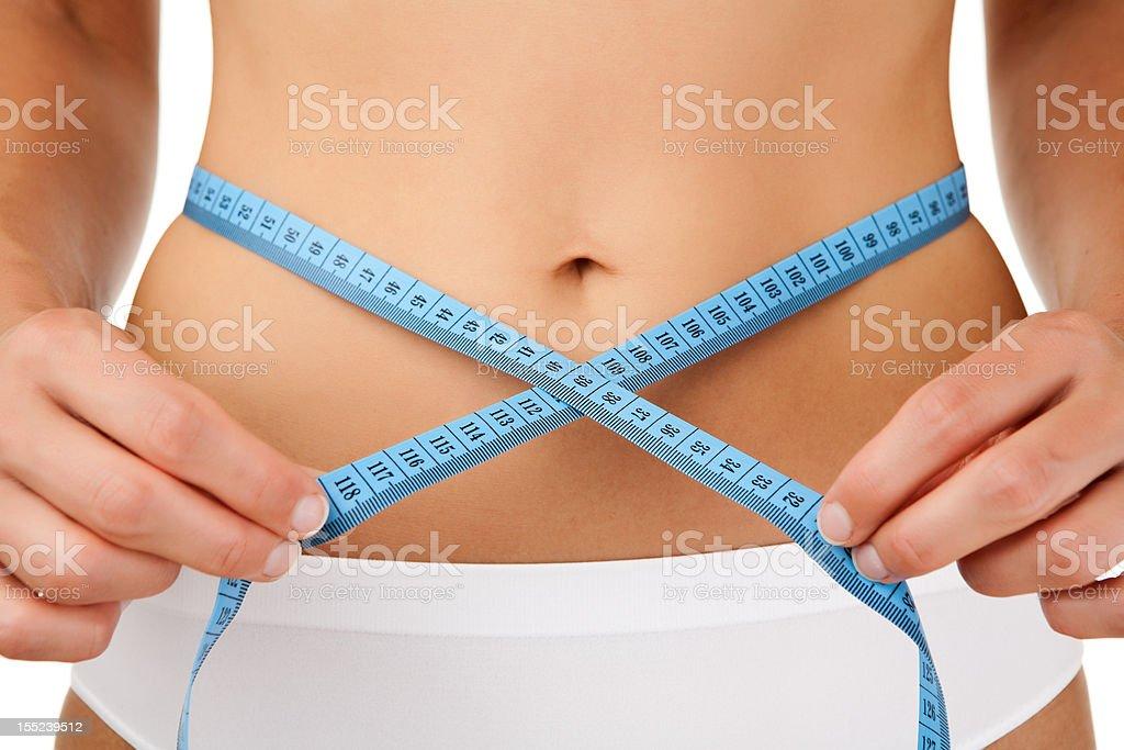 Slim body royalty-free stock photo