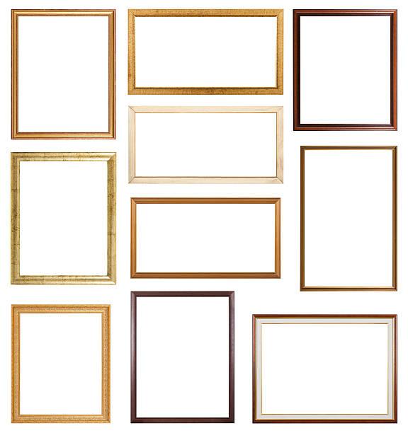 Slim Frames stock photo