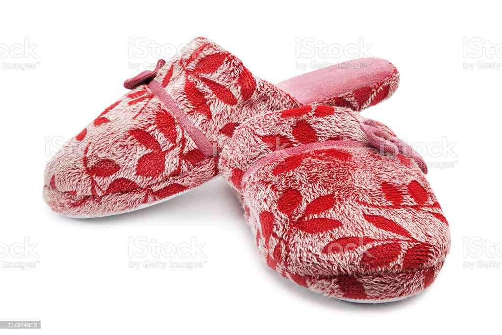 Slippers royalty-free stock photo