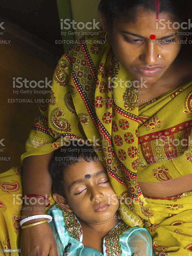 Slipping child royalty-free stock photo