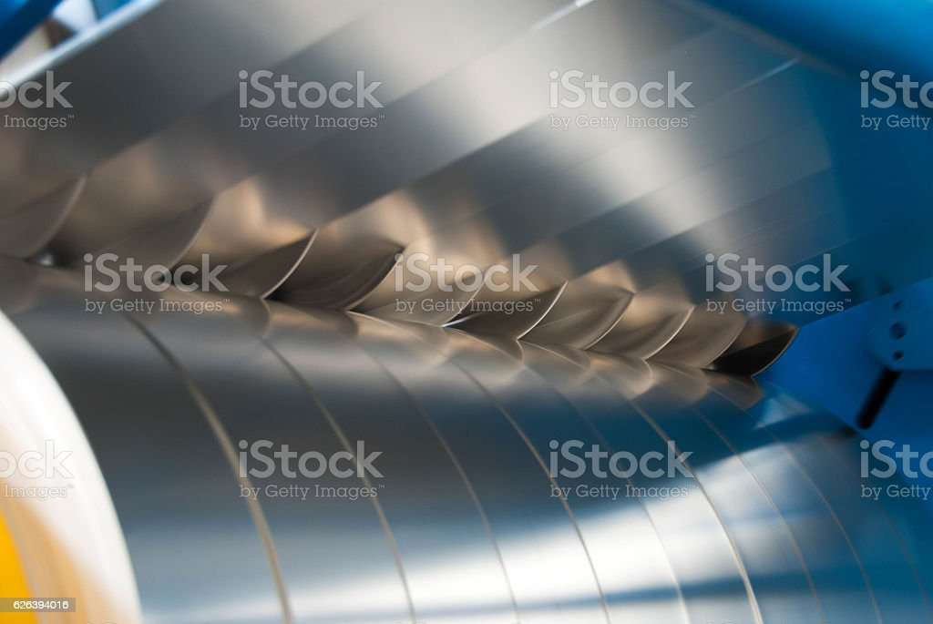 Slitting stock photo
