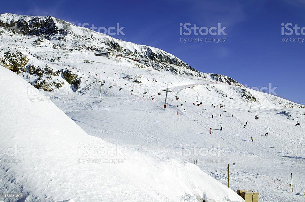 Slopes in Alpe d'Huez. France foto