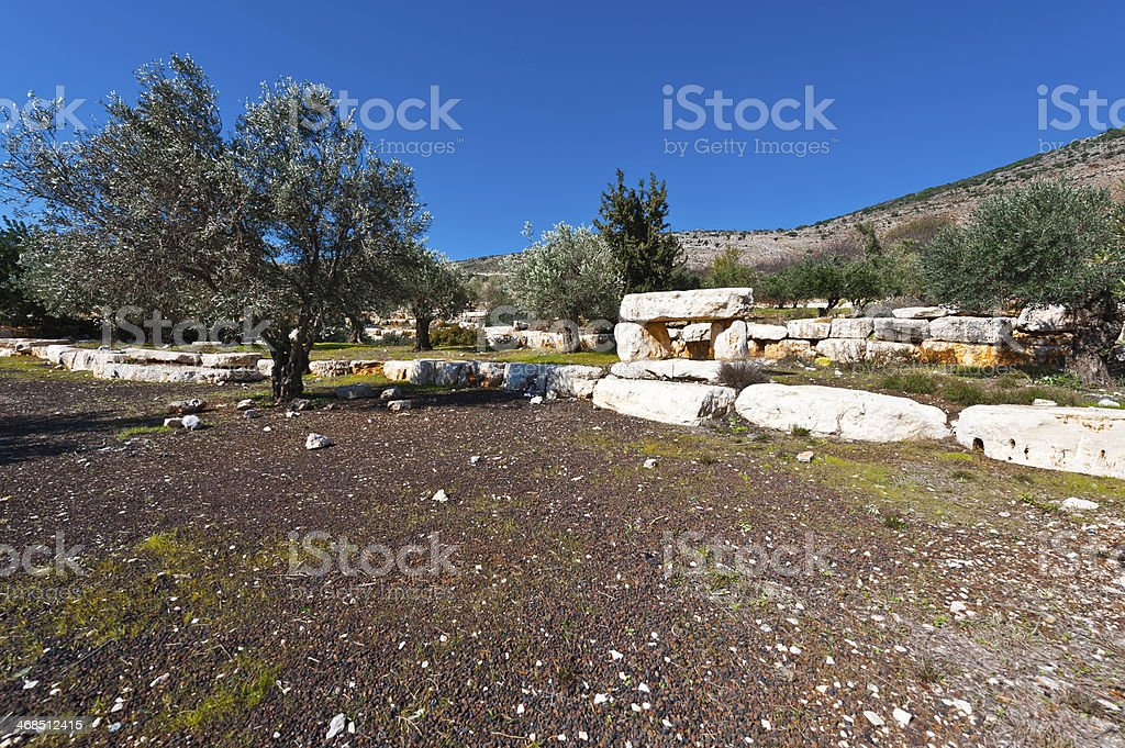 Slopes of Galilee royalty-free stock photo