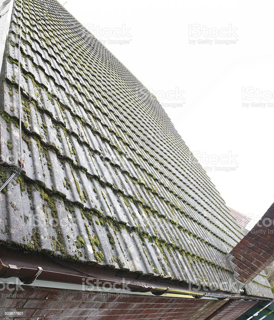 Sloping Roof stock photo