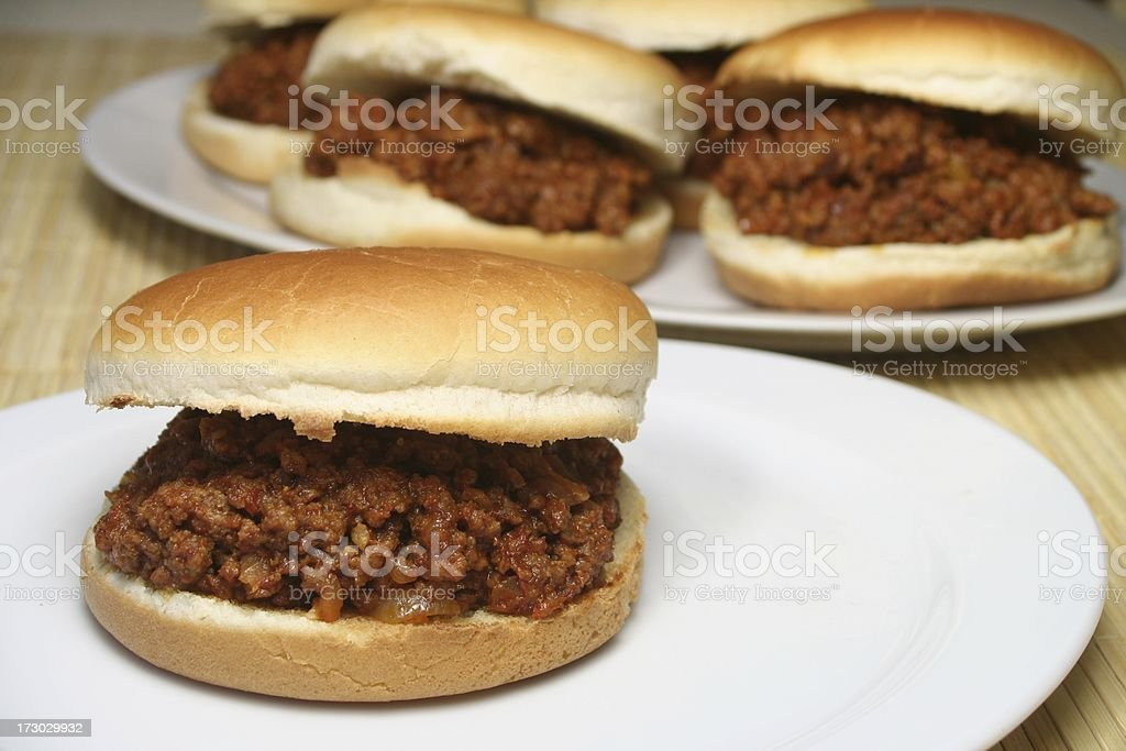Sloppy Joe royalty-free stock photo