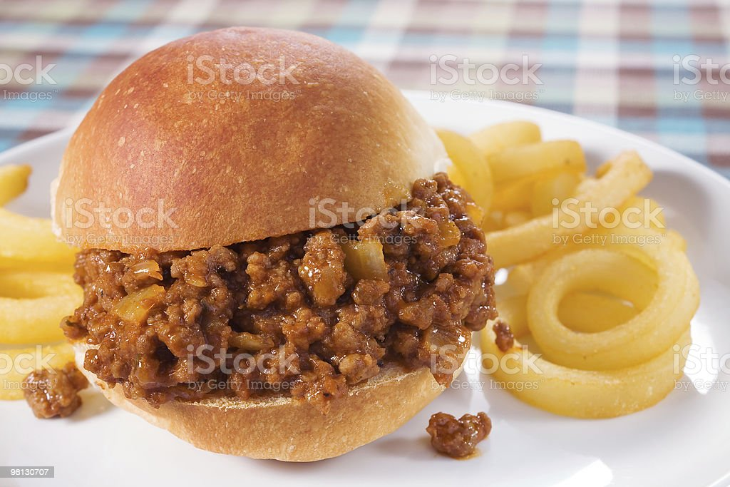Sloppy Joe foto stock royalty-free
