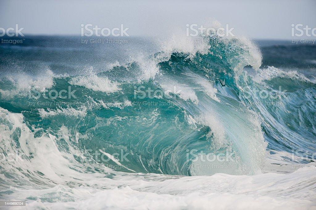 Schlampige Welle in Oahu – Foto