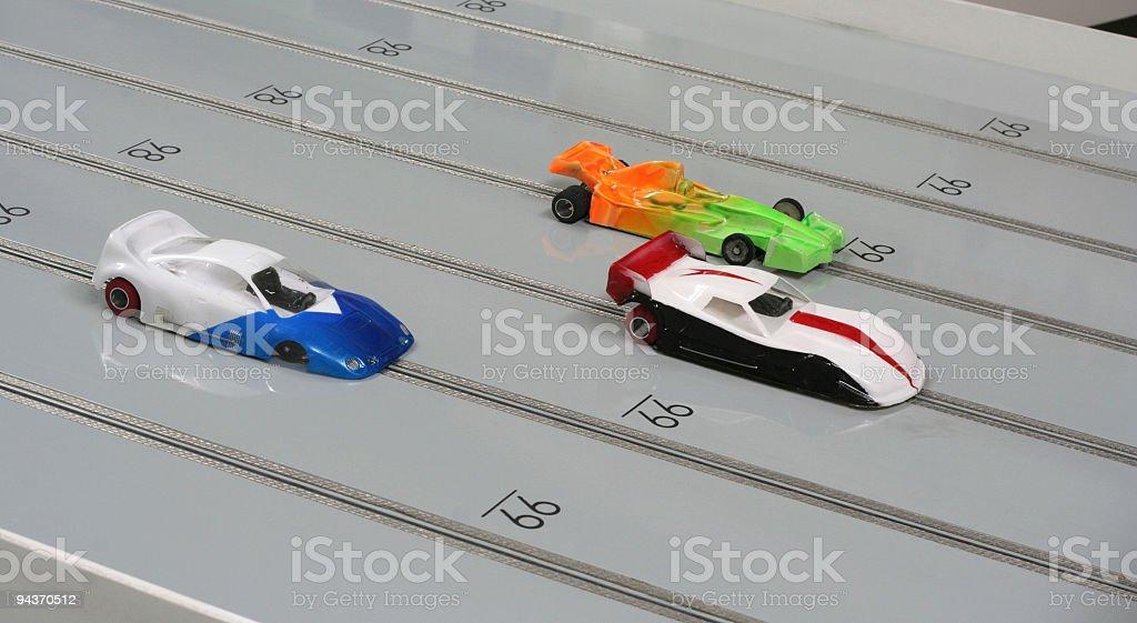 Slot de carros - foto de acervo
