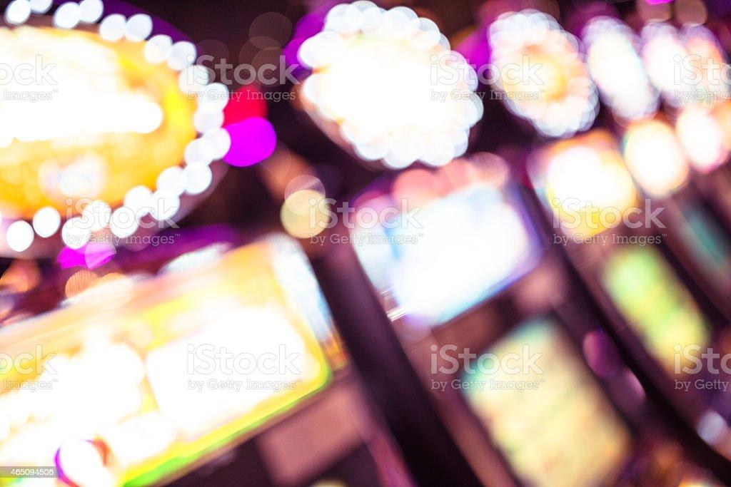 Slot machine casino stock photo