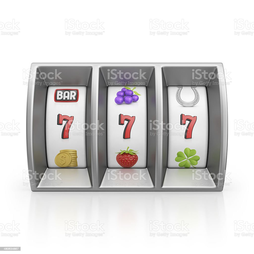 slot machine royalty-free stock photo