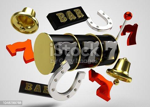 istock Slots Reel Symbols 1048299768