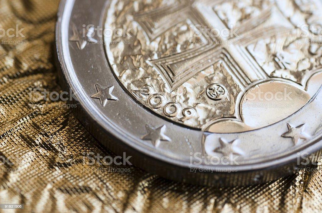 Slovak EURO stock photo