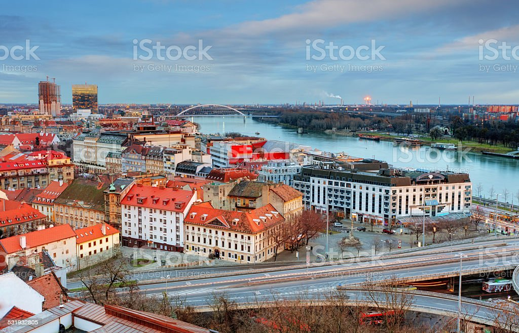 Slovakia - Bratislava stock photo