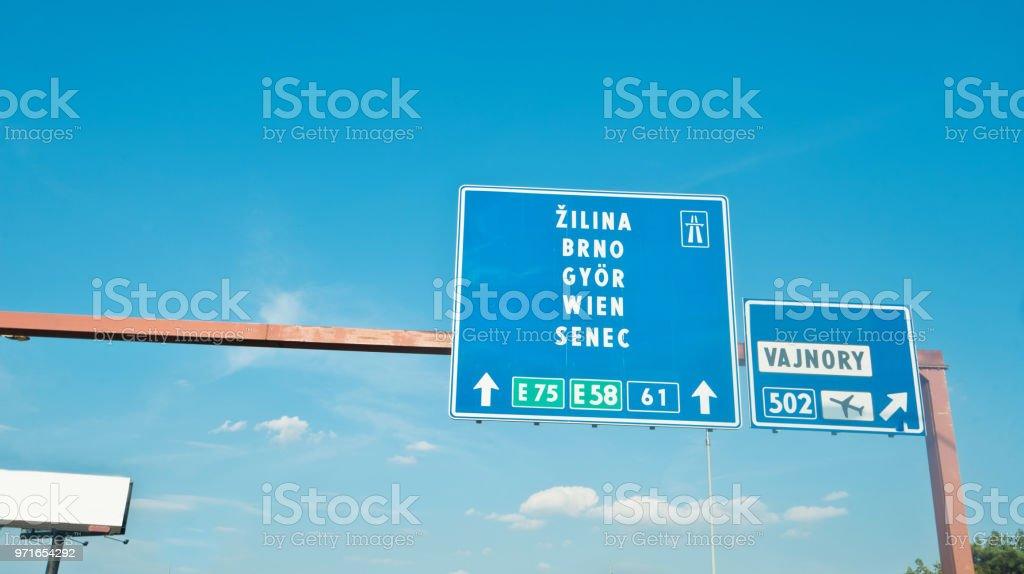 Autobahnen tschechien und slowakei